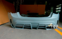 Комплект обвеса - Задний бампер My Ride interceptor - Шевролет Круз 2 (Дорестайлинг 2008,2012)