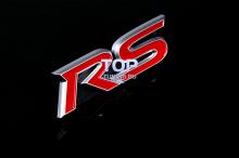 6116 Эмблема в решетку радиатора RS 3D 80x24