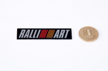 6121 Наклейка эмблема RALLIART 60x16 на Mitsubishi