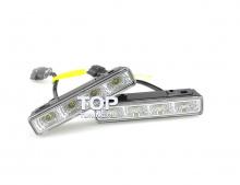 Оригинальные светодиодные дневные ходовые огни Винстар - Полный аналог ДХО Philips DayLights4. Размер 160,5 * 25 * 51 мм