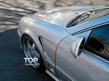 6143 Передние крылья Lorinser на Mercedes CLK-Class W208