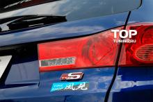 6154 Эмблема наклейка Type-S 110x35 на Honda