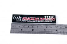Эмблема Mazdaspeed на клеевой основе, размер 100 * 24 мм. Тюнинг МАЗДА.