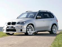 6164 Аэродинамический обвес HRT на BMW X5 E70
