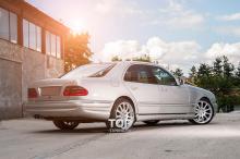 6167 Задний бампер AMG E55 на Mercedes E-Class W210