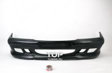 Комплект обвеса - Передний бампер WALD - Тюнинг Мерседес E-Class W210 (Дорестайлинг - 1995, 1999) Передний бампер выполнен из ка