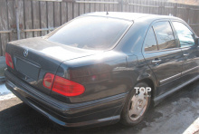 Комплект обвеса - Задний бампер WALD - Тюнинг Мерседес E-Class W210 (Дорестайлинг - 1995, 1999)
