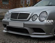 6171 Передний бампер Prior Design на Mercedes CLK-Class W208