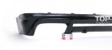 Накладка на задний бампер - Обвес Prior Design - Тюнинг Мерседес CKL-Class W208 (рестайлинг - 1999,2003)