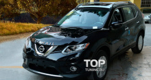 6173 Эмблема TECH Design ABS на Nissan X-Trail T32