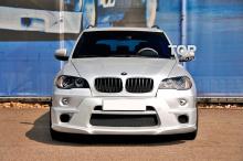 6178 Передний бампер HRT на BMW X5 E70