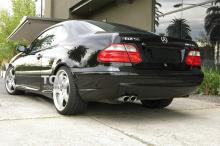 6187 Задний бампер AMG CLK 55 на Mercedes CLK-Class W208