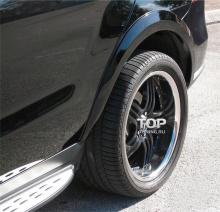 6191 Расширители арок AMG Style на Mercedes ML 166