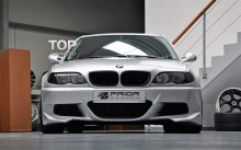 6193 Передний бампер Prior Design Exclusive на BMW 3 E46