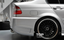 6194 Задний бампер Prior Design Exclusive на BMW 3 E46