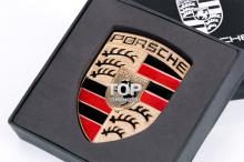 6206 Эмблема 58х77 на Porsche