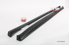 Комплект обвеса - Накладки на GTR пороги в стиле Nismo - Тюнинг Ниссан Скайлайн R34 (Купе)