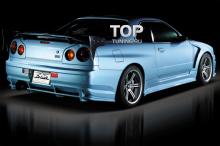6222 Комплект порогов Do-Luck на Nissan Skyline R34