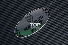 6226 Эмблема лого REMUS Racing 80x38