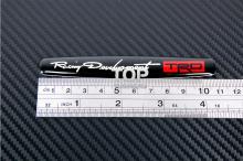 6231 3D наклейка эмблема TRD Овал 110x27 на Toyota