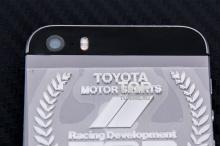 6237 Никелевый герб наклейка TRD 3D 55x44 на Toyota