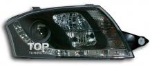 6238 Передние фары GT Black на Audi TT 8N