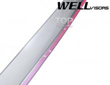 6241 Дефлекторы на окна Well Visors Chrome на Honda CR-V 3
