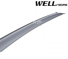 6242 Дефлекторы на окна Well Visors Premium на Mitsubishi Outlander 2