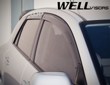 6246 Дефлекторы на окна Premium на Mazda 3 BK