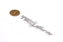 Эмблема шильдик из никелевого сплава - Модель TRD Sports - Тюнинг ТОЙОТА - Размер 80 * 14 мм.