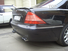 6253 Лип спойлер WALD на Mercedes S-Class W220