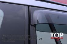 6258 Дефлекторы на окна Premium на Toyota Land Cruiser Prado 120