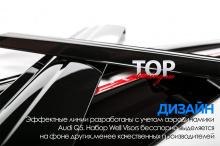 6259 Дефлекторы на окна Well Visors Premium на Audi Q5