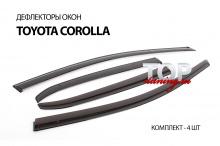 6261 Дефлекторы на окна Well Visors Premium на Toyota Corolla E160