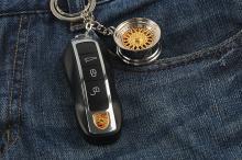 Брелок для ключей Колесо - Диск  BBS на цепочке.
