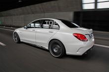 6281 Обвес AMG C63 на Mercedes C-Class W205