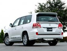 6284 Накладки заднего бампера Jaos на Toyota Land Cruiser 200