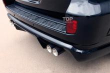 6285 Аэродинамический обвес Invader T30 на Toyota Land Cruiser 200