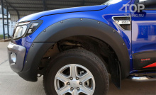 6287 Расширители арок Bushwacker на Ford Ranger