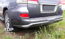 6291 Юбка заднего бампера F Sport на Lexus LX570 UJR 200