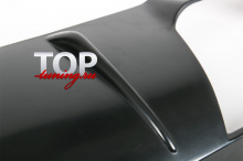 6303 Диффузор заднего бампера GT на Mazda 3 BM