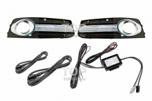 6306 Дневные ходовые огни LED Star на Audi A4 B8