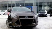 6308 Дневные ходовые огни LED Star Black на Ford Focus 3