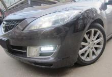 6310 Дневные ходовые огни LED Star на Mazda 6 GH