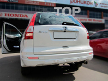 6317 Дополнительные светодиодные стоп-сигналы LED Star White на Honda CR-V 3
