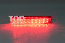 6318 Дополнительные светодиодные стоп-сигналы LED Star на Mitsubishi Lancer 10 (X)