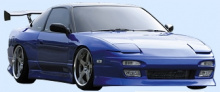 Тюнинг - Пороги обвеса D-Max D1 на Nissan Silvia S13-180SX-200SX-240SX.
