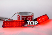 Дополнительные стоп-сигналы со светодиодами Ledstar - Тюнинг Toyota Corolla E160 (2012+)