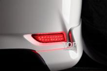 6341 Дополнительные стоп-сигналы LED Star на Toyota Corolla E160