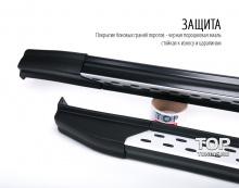 6345 Пороги ступени GX Premium на Hyundai ix35